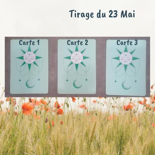 Bien-être - tirage 23 mai -3 cartes
